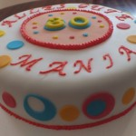 Bunte Torte