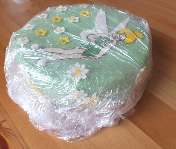 Verpackter Kuchen