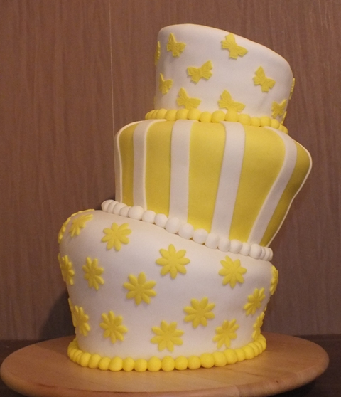 Topsy Turvy cake